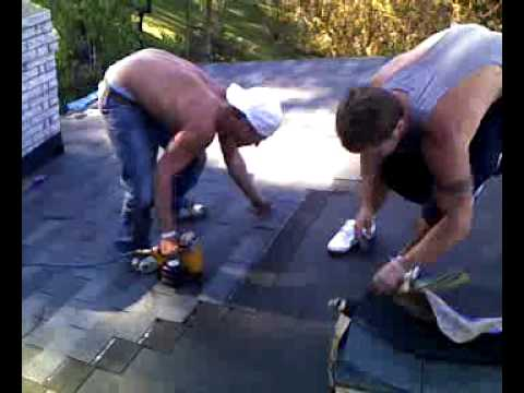 Fast Roofing installation with 3-tab shingle : fast roofing - memphite.com