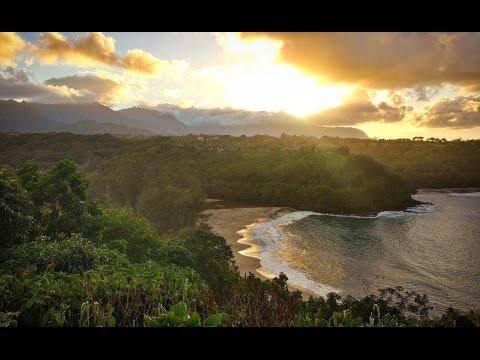 Gorgeous Views of Kalihiwai Bay & Mount Namahana Kauai, Hawaii