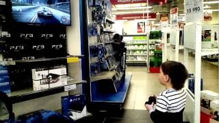 М Видео Играем в Магазине(, 2015-05-09T09:29:35.000Z)