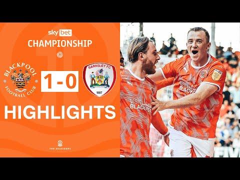 Blackpool Barnsley Goals And Highlights