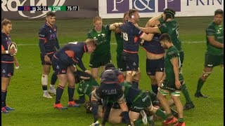 Four players binned in 10 minutes as blood boils in the Pro14. [Edinburgh vs Connacht '20]