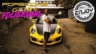 Enjoy Fahrzeugfolierung   Porsche GT3 RS Folierung & A45 AMG Camouflage