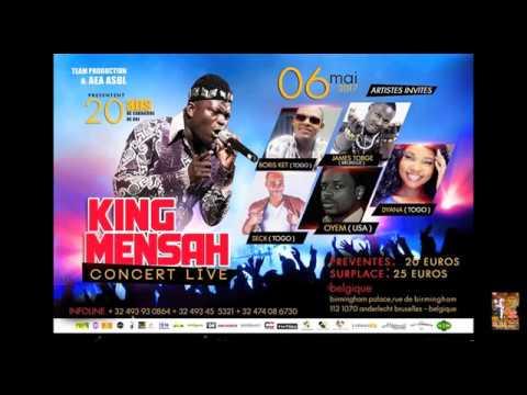 Artistes invités live King Mensah Bruxelles