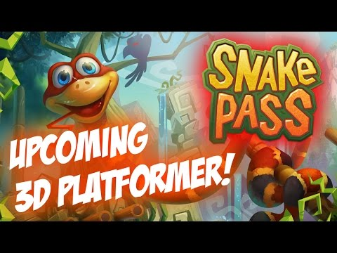 Snake Pass: A Very Unique Style 3D Platformer 2017!