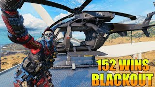 152 Wins // Blackout // Call of duty // Black Ops 4 // PC Gameplay
