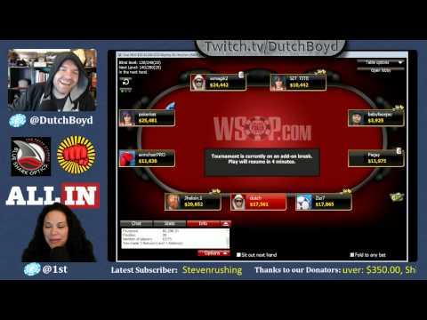 Dutch Boyd's WSOP Online Poker Grind - Thursday Edition (9/10/2015)