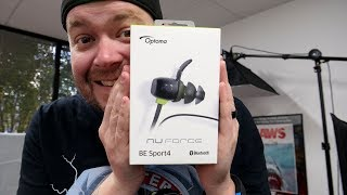 BE Sport4 Setup - Optoma Nuforce BE Sport4 Wireless Bluetooth Sport/Running Headphones Setup