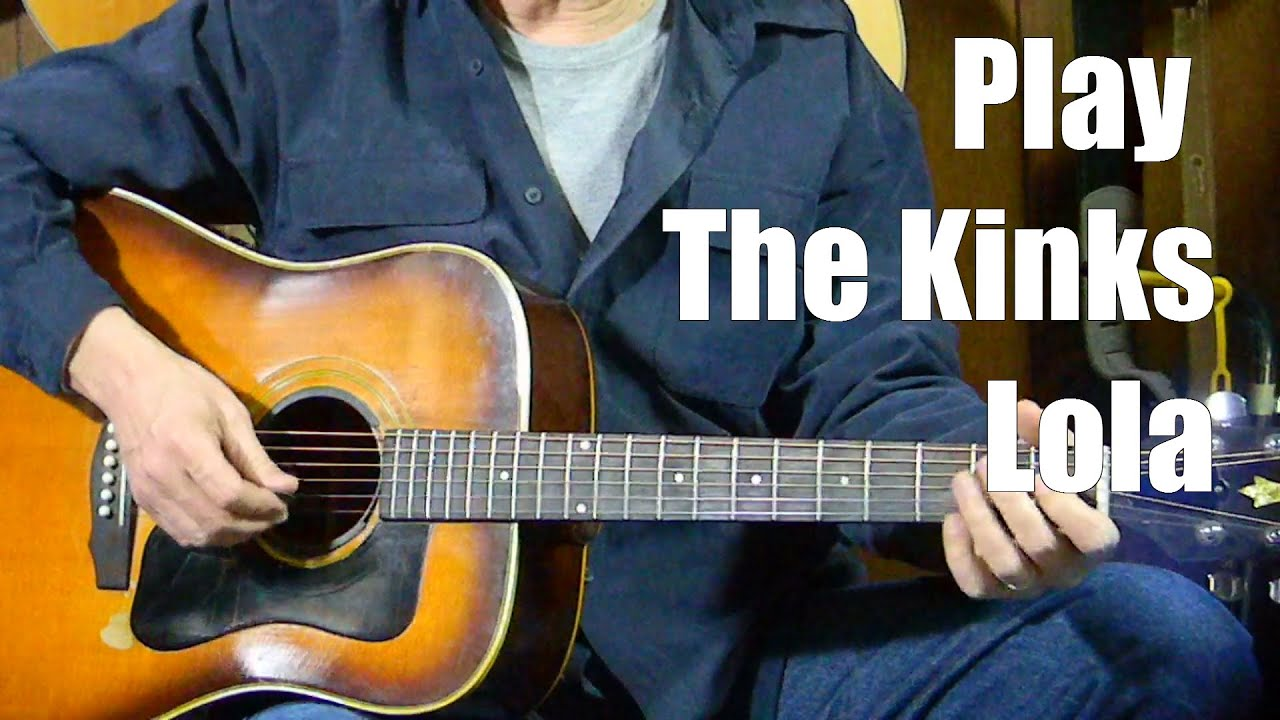how to play lola by the kinks learn rock pop songs on guitar easy guitar lessons youtube. Black Bedroom Furniture Sets. Home Design Ideas