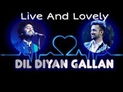 Arijit Vs Atif | Dill Diya Gallan 😍 Live Amazing Compedition 😍 Killing Must watch