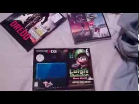 Review/Unboxing: Nintendo 3DS Cobalt Blue with Luigi's Mansion: Dark Moon
