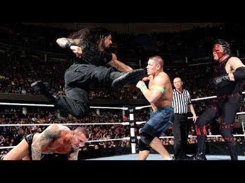 WWE Resling | Raw Roman Reigns vs  John...