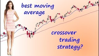 Best Moving Average Crossover Trading Strategy? (for swing trading mostly)