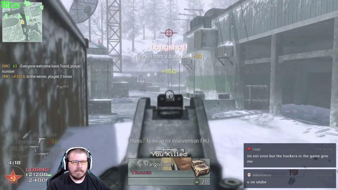 132 Kill TDM on Sub Base - FULL GAME - MW2 IW4x PC Gameplay