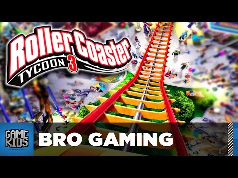 BUILD A COASTER - Rollercoaster Tycoon 3 - Bro Gaming