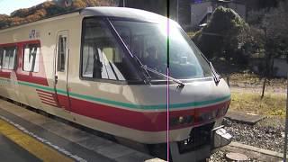 2018:11:24 381系特急やくも(パノラマグリーン車)新見駅発車