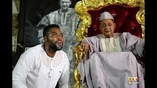 IBRAHIM CHATTA IS EXTRA ORDINARY TALENTED SEE HOW HE PRAISE ALAAFIN OYO IN HIS PALACE
