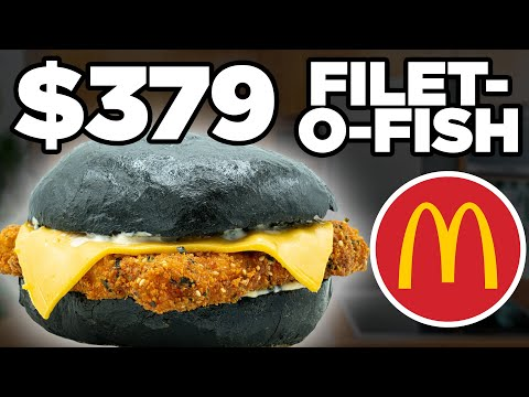$379 McDonald's Filet-O-Fish Taste Test | FANCY FAST FOOD