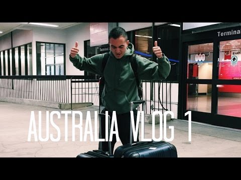 MY JOURNEY TO AUSTRALIA! - TRAVEL VLOG 1 - OMID