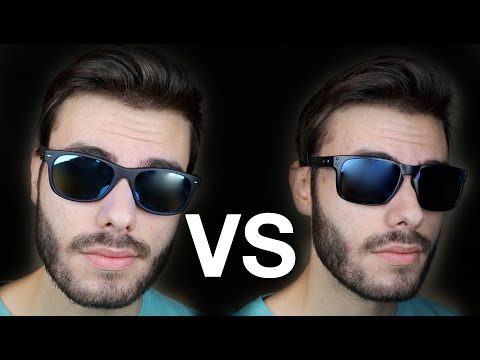 ray ban justin vs wayfarer  oakley holbrook vs ray ban new wayfarer