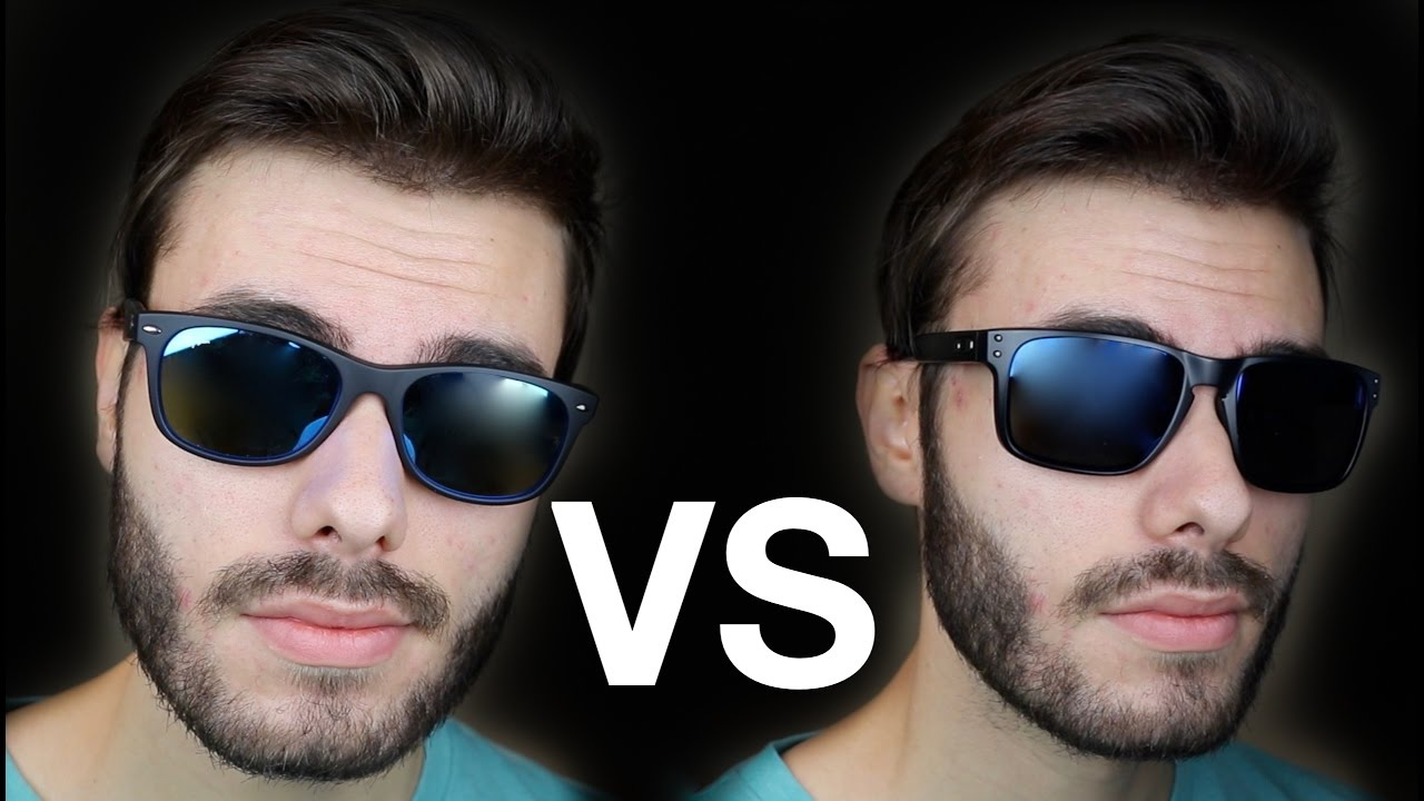 Oakley Holbrook Vs Ray Ban New Wayfarer Youtube