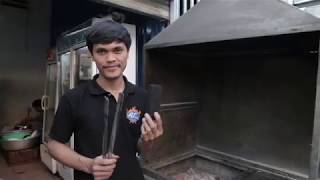 How to make char-briquettes, by Khmer Green Charcoal (KGC) - an OTAGO company