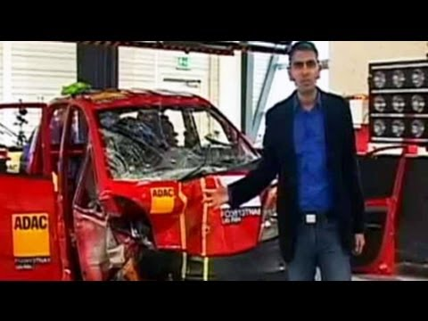 Car And Bike Show - India's first crash tests