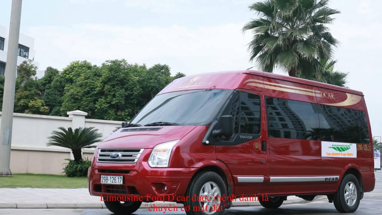 e6d72a29de Dịch vụ  Cho thuê xe limousine ford Dcar 9 chỗ - YouTube