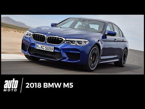 2018 BMW M5 [ESSAI] : mieux mais moins mâle (avis, qualités, défauts, intérieur...)