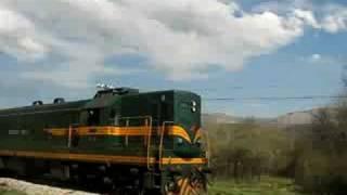 series 661 diesel locomotives on freight train power train EMD G16