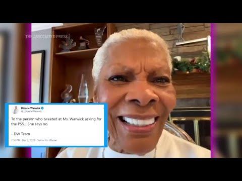 Dionne Warwick on her viral PlayStation 5 tweet (Video)