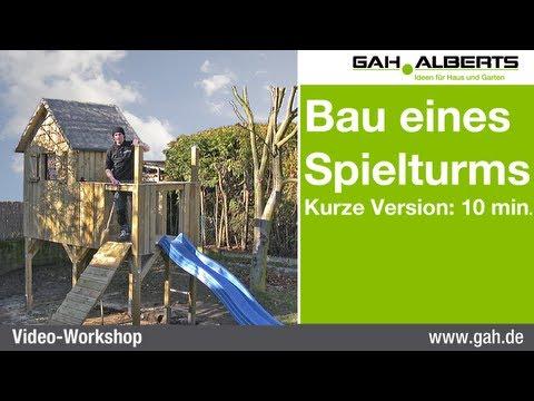 Fatmoose Klettergerüst Xxl : Spielturm holz kinderspielhaus mit schaukel spielhaus paradies