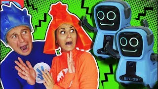 Фиксики Нападение Покиботов Пародия Didika Tv Веселые Приключения Счастливые Детки