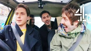 The Inbetweeners Hilarious Trip Back to School! | The Inbetweeners: Fwends Reunited