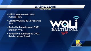 Wash and Learn initiative helps Baltimoreans