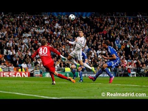 Real Madrid 3 - 4 Schalke 04 Goles Audio Cope 10/03/15