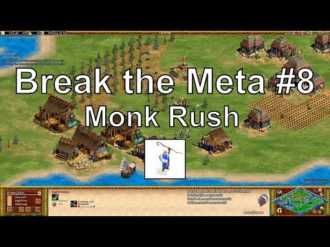 "Aoe2 ""Break the Meta"" #8: Monk Rush with Transport Ships"