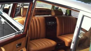 1977 Mercedes 600 Pullman delivered to Central African Republic--- Bokassa