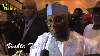 Breaking : Why Atiku Stages a Walk out of the 2019 Presidential Debate