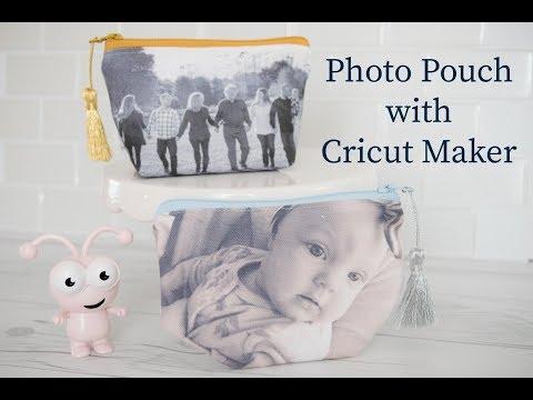 Cricut Maker Photo Pouch
