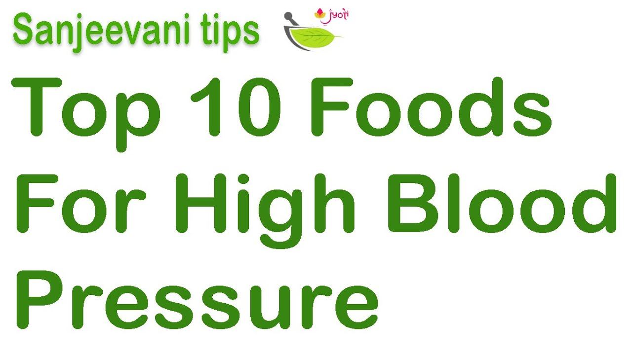 Top  Foods Not To Eat With High Blood Pressure