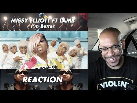 Missy Elliott - I'm Better ft. Lamb [Official Video] reaction/review