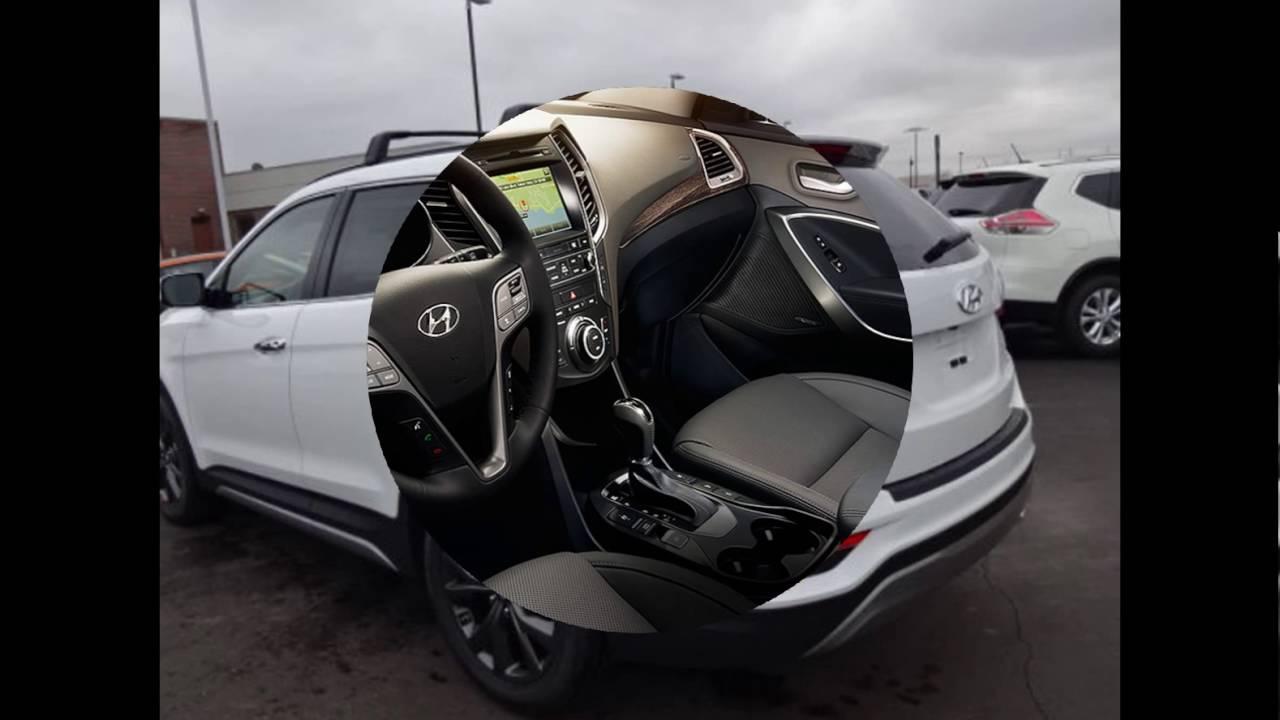 2017 Hyundai Santa Fe Sport 2 0l Turbo Suv Review Price Specs Redesign