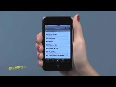 How to Play Music on Your iPod Touch For Dummies