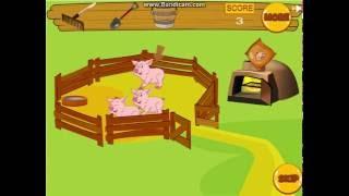 Свинка Пеппа Кормит Животных / Peppa Pig Feeds The Animals