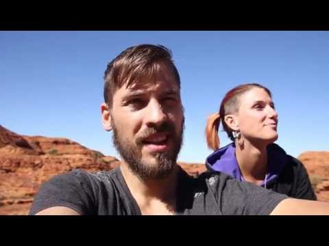 A Rim Walk on the Kings Canyon AUSTRALIA