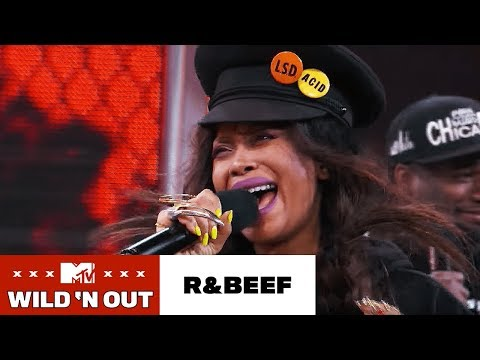 Erykah Badu & The Badus Perform Revenge of Tyrone  Wild 'N Out  #RnBeef