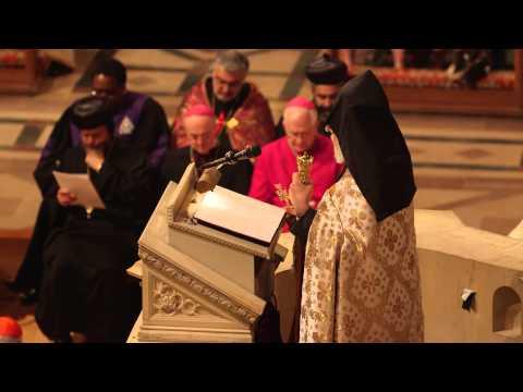 His Holiness Catholicos Karekin II at Washington National Cathedral
