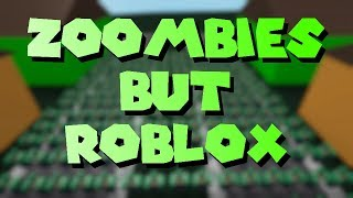A Zombie Invasion but it's Roblox - A Roblox Machinima