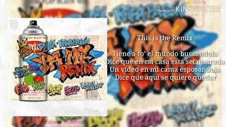 PA MI REMIX (LETRA)- ft. Sech, rafa pabön, cazzu, feid, khe...