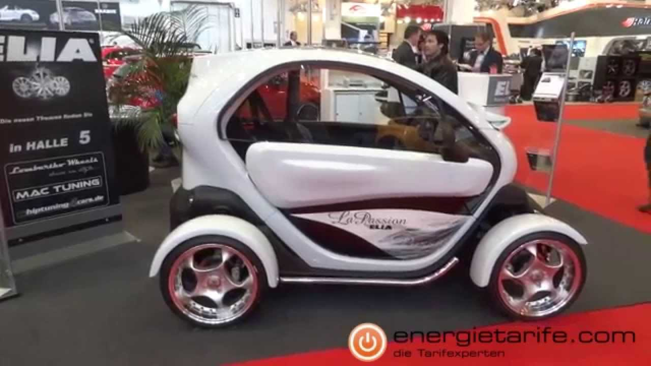 elektroauto elia renault twizy la passion youtube. Black Bedroom Furniture Sets. Home Design Ideas